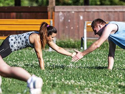 Venkovní funkční trénink