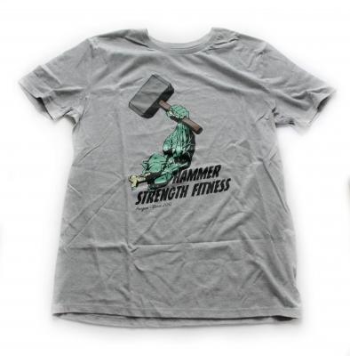 Tričko HSF design Hulk šedé