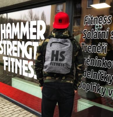 Sportovní vak GYMSACK HS Fitness