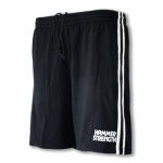 Pánské tréninkové šortky Hammer Strength, černo-bílé