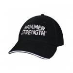 Kšiltovka HAMMER STRENGTH, černá