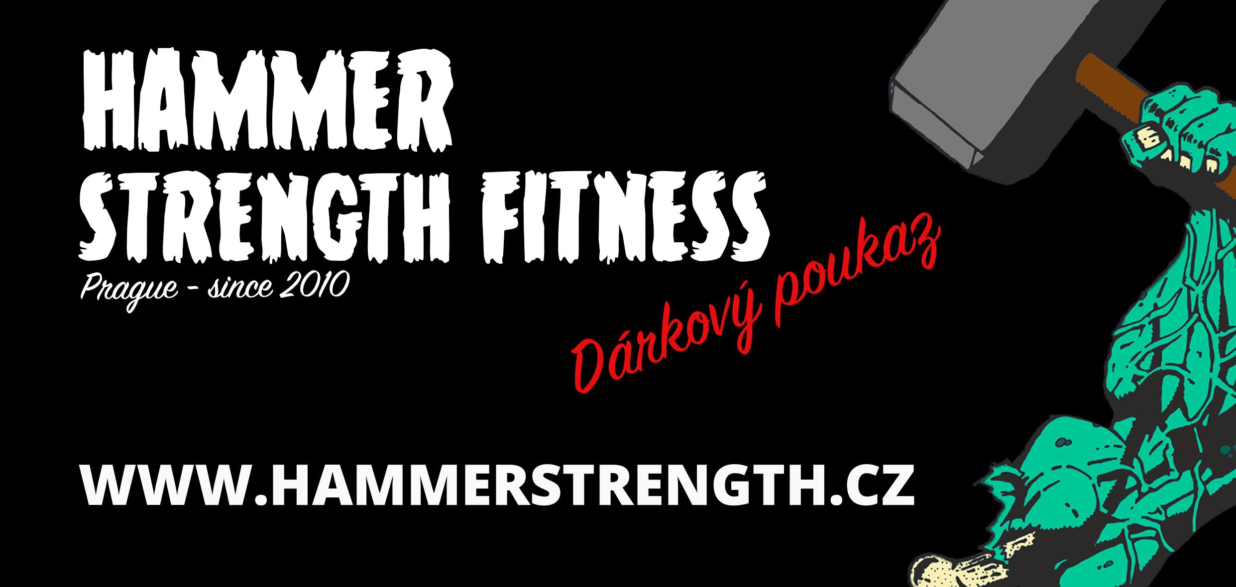 dárkový poukaz fitness hammer strength skupinové lekce joga trenér everithing mrdat