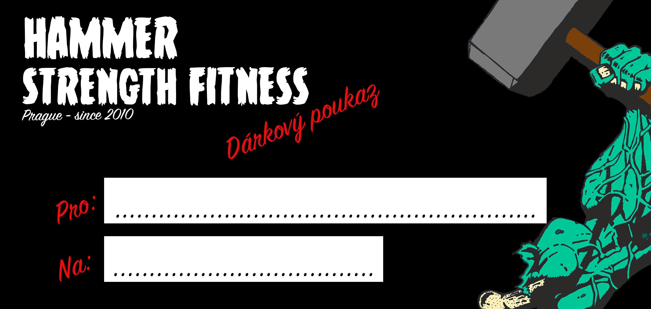 Dárkový poukaz fitness hammer strength praha 13 stodůlky joga skupinové lekce wellness