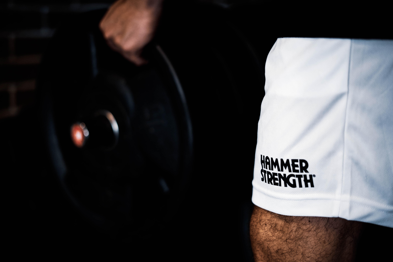 merchandisign hammer strength fitness luka praha tílko sportovní tričko fitness gym stodůlky