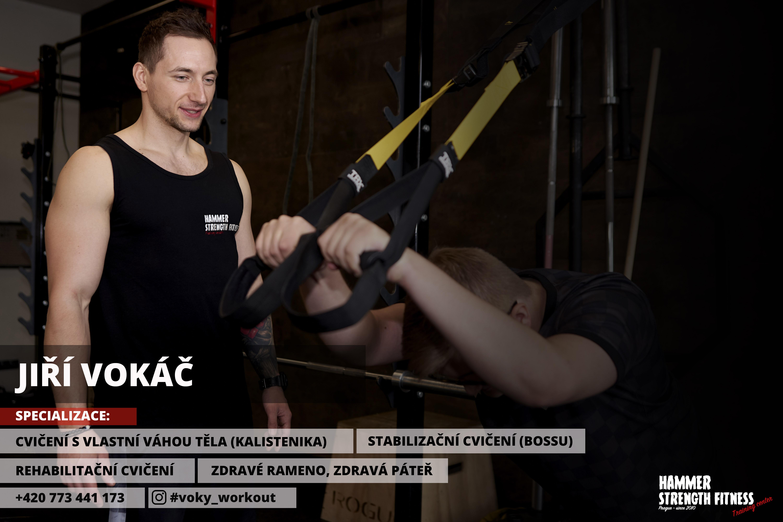 Jiří Vokáč trenér hammer strength fitness praha prague posilovna dieta svaly hubnutí stodůlky