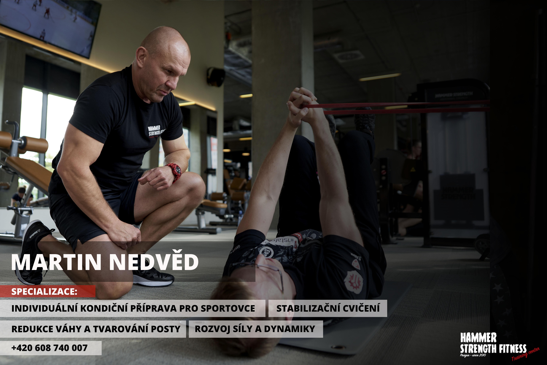 Martin Nedvěd hammer strength fitness praha prague cvičení osobní trenér posilovna gym