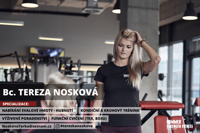 tereza nosková hammer strength fitness gym praha posilovna stodůlky dieta