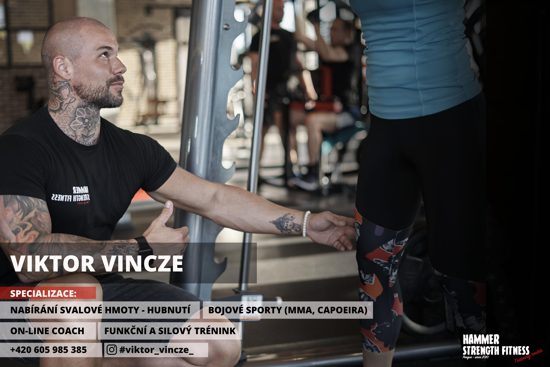 Viktor vincze hammer strength fitness prague praha stodůlky osobní trenér fitness gym posilovna dieta